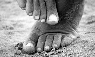 כפות הרגליים הן העקב אכילס שלנו