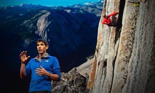 צפו בסיפורו של מטפס ההרים שעשה משהו בלתי יאומן...