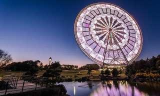 תמונות מדהימות של גלגלי ענק בפארקים