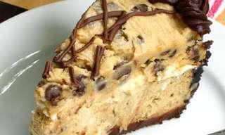 עוגת גבינה קפה ועוגיות מטריפה !!!עוגת גבינה שבהחלט שווה לחטוא בשבילה!!!