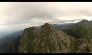 הר גייוונט ממעוף הציפור