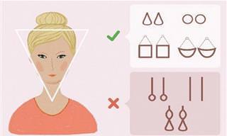 איך להתאים תכשיטים לבגדים ולצורת הפנים