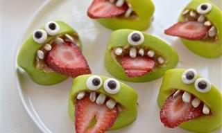 8 הצעות הגשה שיגרמו לילדכם לאכול אוכל בריא ללא כל התנגדות