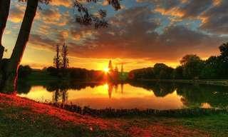 ללכת לאיבוד בין מים לשמיים -רגע מקסים!