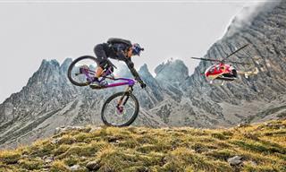 מסע רכיבת אופניים מדהים למרגלות הרי הדולומיטים