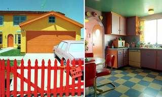 בתים בהשראת סרטים מצויירים - מדליק!