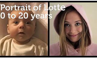 מ-0 עד 20: סרטון טיימלאפס של תחילת החיים