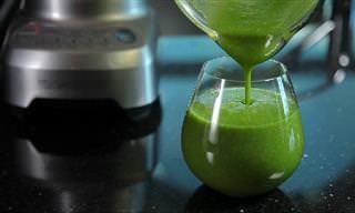 משקה ירוק ובריא לחיזוק העצמות ולהגנה על בריאותן