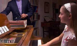 צפו בילדה שמלחינה מנגינות מקסימות תוך דקות ספורות