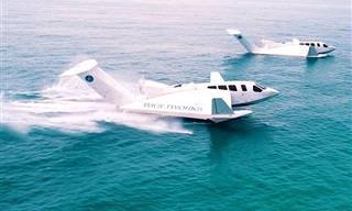 Airfish 8 – המטוס שיחליף את הספינה
