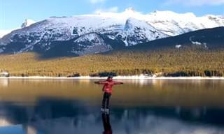 סרטון של ספורט אקסטרים במקומות היפים בעולם