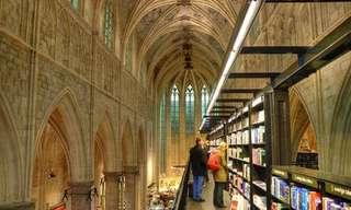 חנויות הספרים הכי מדהימות בעולם