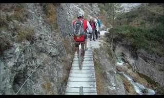 רכיבת אופניים באלפים האוסטריים