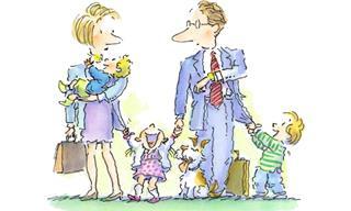 3 בדיחות נהדרות על השיחות המצחיקות בין הורים לילדים