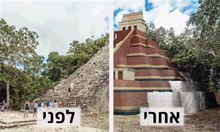 שחזור דיגיטלי של 7 אתרים ארכיאולוגיים מפורסמים