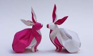 הנייר מתעורר לחיים - יצירות אוריגמי מדהימות