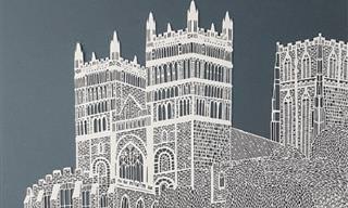 20 מגזרות נייר מדהימות של האמנית פיפה דילאגה
