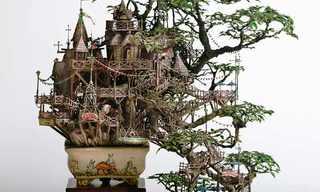 מגדלים ומבוכים - אמנות מיניאטורית