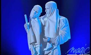 צפו באמן הפנטומימה ג'רום מוראט במופע מרגש ומיוחד