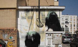 ציורי רחוב תלת מימדיים מדהימים