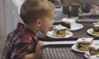 ילדים ועוגות, השילוב המקסים והמצחיק ביותר שיש