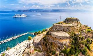 18 תמונות מרהיבות של האי היווני קורפו