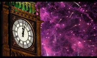 מופע הזיקוקים המסורתי של לונדון