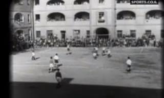 סיפורה של ליגת הכדורגל היהודית בגטו טרזיינשטט