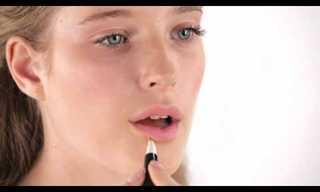 איפור ברגע עם שפתון בלבד!