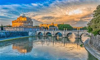 מפה אינטראקטיבית של אטרקציות ברומא