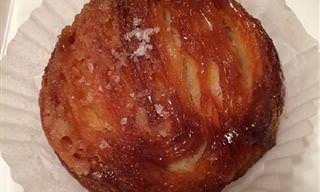 מתכון לעוגת שמרים עלים צרפתית - קווין אמאן