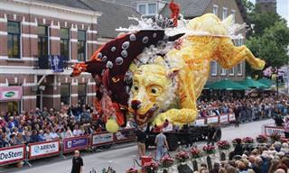 פסטיבל הפרחים המדהים בזונדרט שבהולנד של שנת 2016
