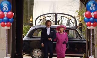 אנדרה ריו חיבר את המנגינה הזו לכבוד יום הולדתה ה-90 של מלכת אנגליה