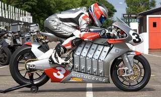 אופנוע חדשני - מהיר ועצבני