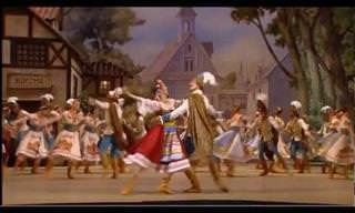 """צפו בריקוד פולני מרהיב בביצועה של להקת """"בולשוי"""" המפורסמת"""