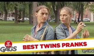 לקט ענק של מתיחות תאומים!