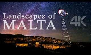 אתרי טבע נפלאים במלטה באיכות 4K