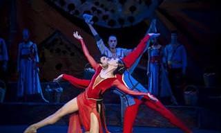 """""""גאינה"""": צפו במופע בלט גיאורגי סוחף ומלא ברגש!"""