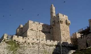 סיור וירטואלי מודרך במגדל דוד