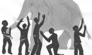 משל הפיל - אגדה הודית עתיקה