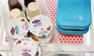 18 פתרונות אחסון פשוטים וחכמים שיפנו לכם מקום וזמן במטבח
