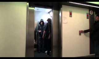 בכוח המחשבה - מתיחה מצחיקה במעלית!