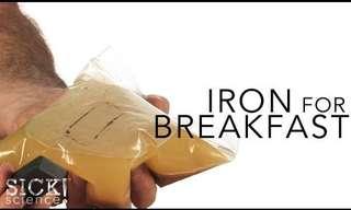 כך תדעו אם יש לכם ברזל באוכל
