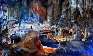 צפו בעולם התת קרקעי הקסום שמסתתר במערת טרה רונקה