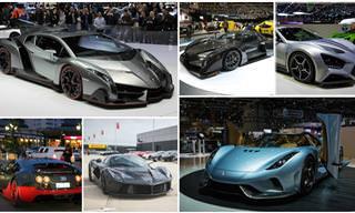 8 מכוניות-על המדהימות ביותר של 2015
