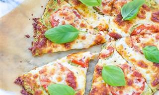 מתכון לפיצה בריאה וטעימה על בסיס קישואים
