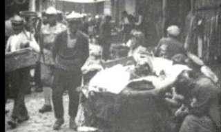 כך נראו החיים בירושלים בשנת 1918 - סרטון נדיר!