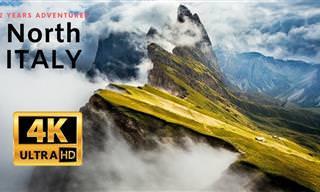 סרטון הטבע המדהים הזה ייקח אתכם לטיול בהרי צפון איטליה