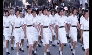 תיעוד בתמונות וקולות של מצעדי יום העצמאות הנוסטלגיים