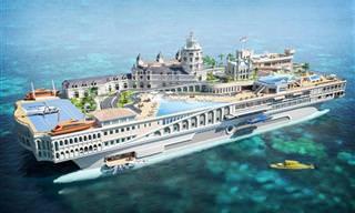 10 דגמי יאכטות וספינות תענוגות שיגרמו לכם לרצות נפוש בים הפתוח